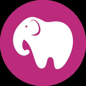 Single Elephant Mascot